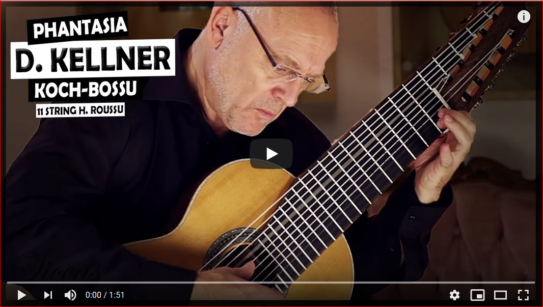 David Kellner - Andreas Koch plays Phantasia No.3 in F Major on an 11 strings 2019 Heikki Roussu